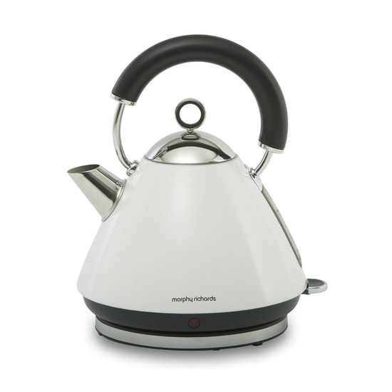 Morphy Richards Accents 43774 Pyramid Traditional Kettle - White