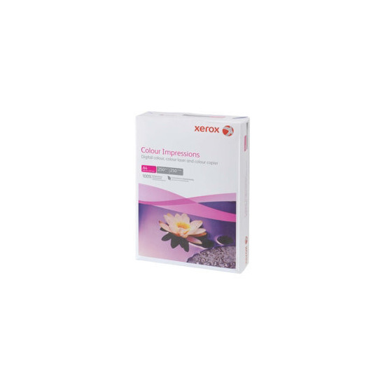 Xerox Impressions A4 250gsm multifunctional printer card  white (500 sheets)