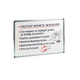 Office Depot Aluminium Frame Magnetic Whiteboard 900H x 1200Wmm Reviews