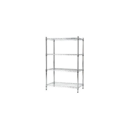 Contemporary Shelving 4 Shelf Unit 1625 x 910 x 410mm