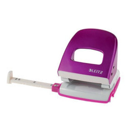 LEITZ WOW Nexxt Metal Punch, Up to 30 Sheets - Pink Reviews