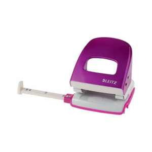 Photo of LEITZ WOW Nexxt Metal Punch, Up To 30 Sheets - Pink Stationery