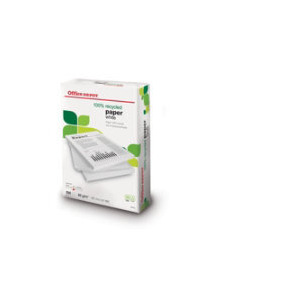 Photo of Office Depot 100% Recycled Printer Paper, White, A4, 80GSM Printer Paper