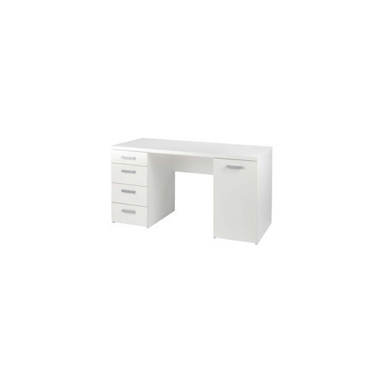 Deluxe white workstation
