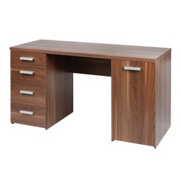 Deluxe walnut effect workstation Reviews