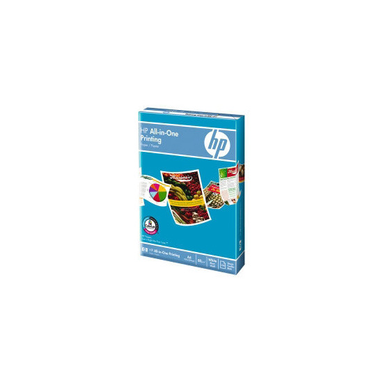 HP All-in-One printer paper  white (250 sheets)