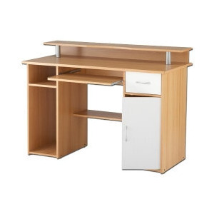 Photo of Albany Workstation Beech Furniture