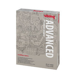 Viking Advanced A4 100gsm bright white premier printer paper (500 sheets) Reviews