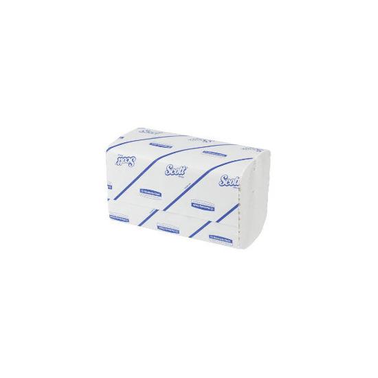 Kimberly Clark Scott Performance Hand Towels 1-Ply White (224/Sleeve)