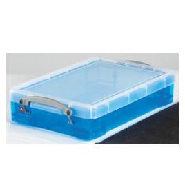 Really Useful Box polypropylene plastic storage box four litre (88 x 255 x 395mm H x W x D) in pink Reviews