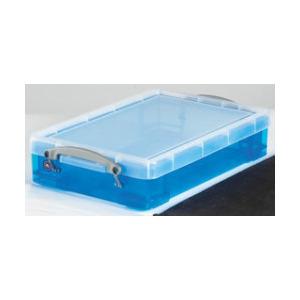 Photo of Really Useful Box Polypropylene Plastic Storage Box Four Litre (88 X 255 X 395MM H X W X D) In Pink Stationery