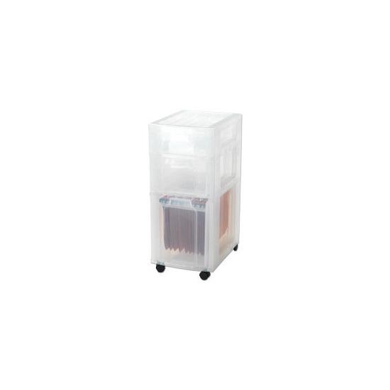 Really Useful DT 1019 Box Storage Unit  1 x 7L, 1 x 12L, 1 x 25L