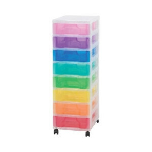 Photo of Really Useful Box Multicoloured Storage Unit 8X7 Litre Household Storage