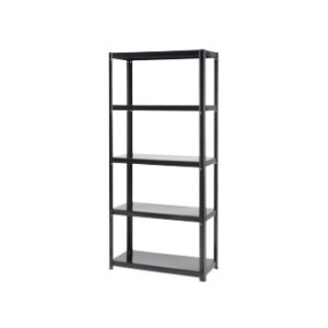 Photo of 5 Tier Boltless Shelving Unit - Black 1500H X 700W X 300D Furniture