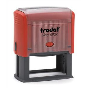 Photo of Trodat Self Inking 75X38MM Stamp Up To 8 Lines Stationery