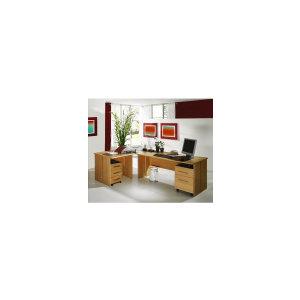 Photo of Great Value Sun Bundle Deal - L-Shaped Desk and 2 Pedestals Deckchair