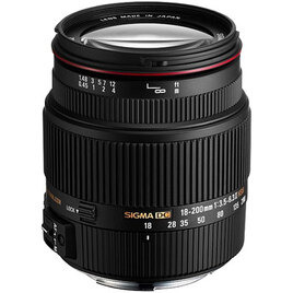 Sigma 18-200mm f/3.5-6.3 II DC OS HSM Lens (Canon Mount) Reviews