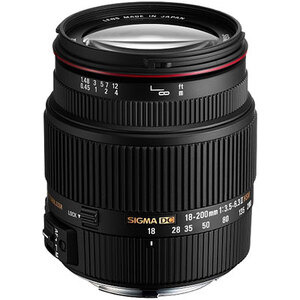 Photo of Sigma 18-200MM F/3.5-6.3 II DC OS HSM Lens (Canon Mount) Lens