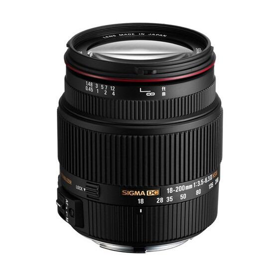 Sigma 18-200mm f/3.5-6.3 II DC OS HSM Lens (Nikon Mount)