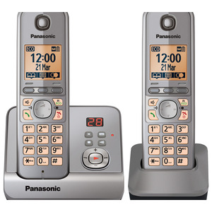 Photo of Panasonic KX-TG6722EM Duo Landline Phone