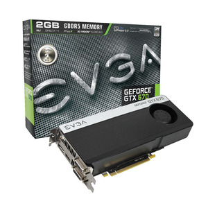 Photo of EVGA GeForce GTX 670 Graphics Card