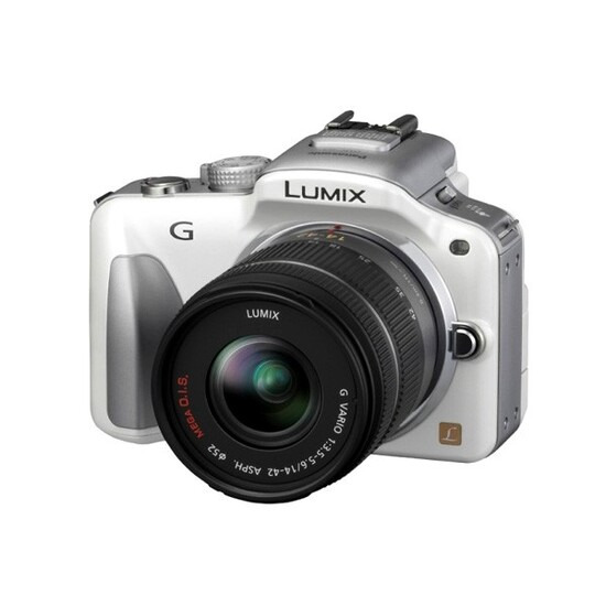 Panasonic DMC-G3 with Lumix G 14-42mm Lens Kit