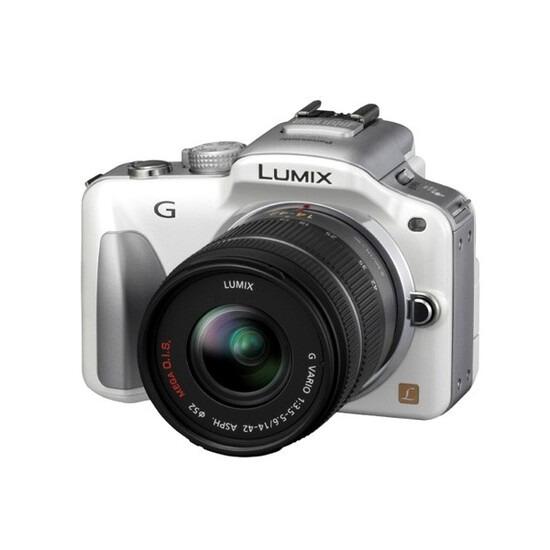 Panasonic DMC-G3 with Lumix G 14-42mm Lens Kit