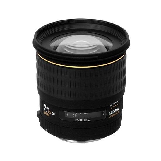 Sigma 28mm f/1.8 EX DG ASP Macro (Canon Mount)