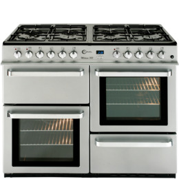 FLAVEL ML10FRSP Dual Fuel Range Cooker - Silver Reviews