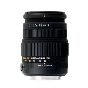 Photo of Sigma 50-200MM F/4-5.6 DC OS HSM (Nikon Mount) Lens
