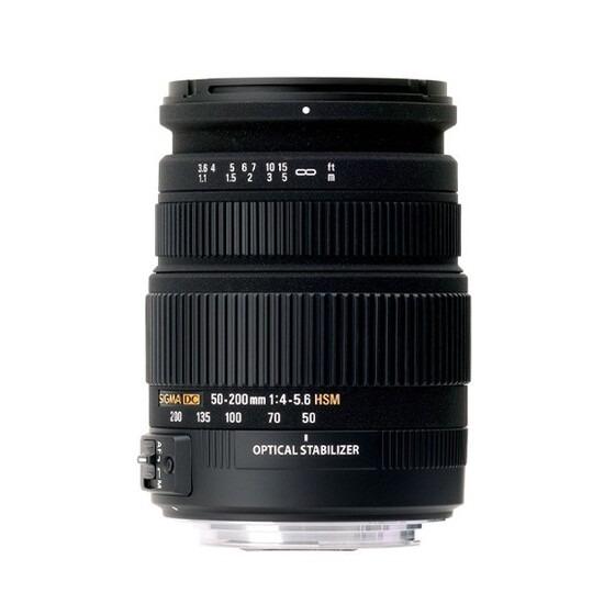 Sigma 50-200mm f/4-5.6 DC OS HSM (Nikon Mount)