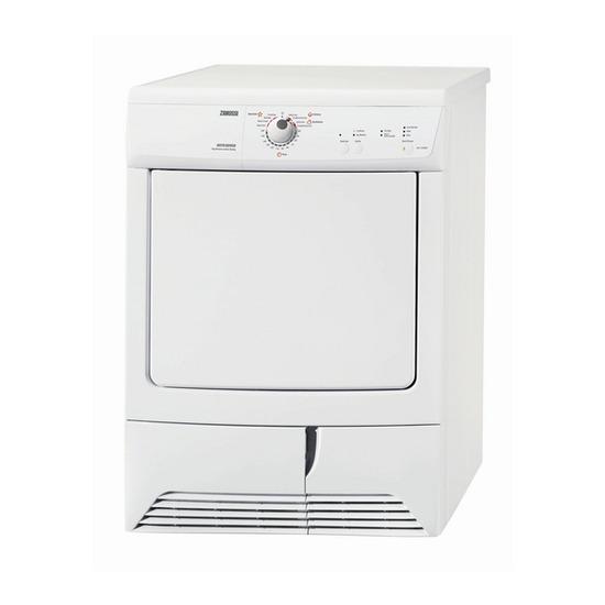 Zanussi ZDC47209W Condenser Tumble Dryer