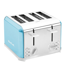 Tefal TT543441 4-Slice Toaster - Blue & White