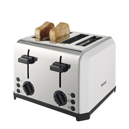 Tefal TT543115 4-Slice Toaster - Stainless Steel Reviews