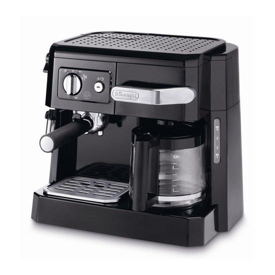 DeLonghi BC410 Espresso and Coffee Machine - Black