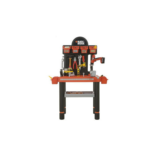 Smoby Black Decker Diy Workbench