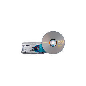 Photo of Sony DVD-R 25 Pack Spindle DVD R