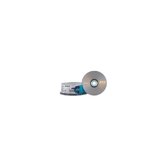 Sony DVD-R 25 Pack Spindle