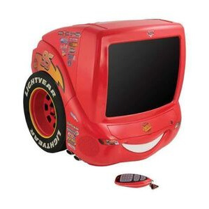 "Photo of Pixar Cars 14"" Speedy TV/DVD Combo Television"