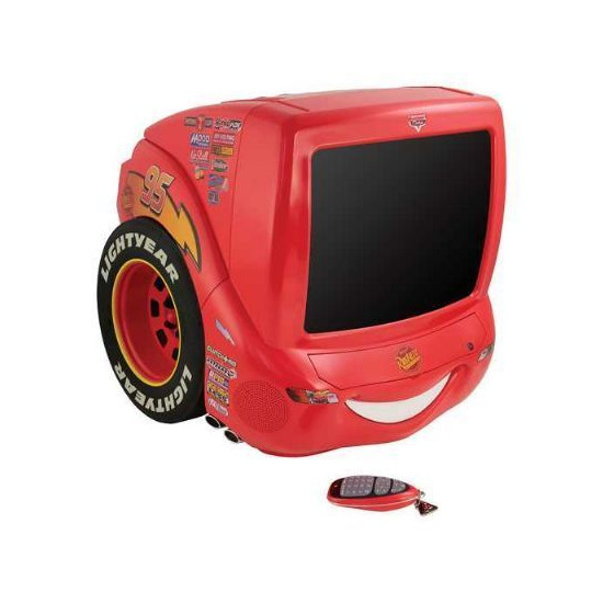 "Pixar Cars 14"" Speedy TV/DVD Combo"