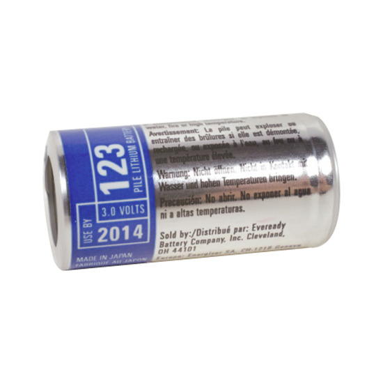 Energizer Photo Lithium 123 Battery