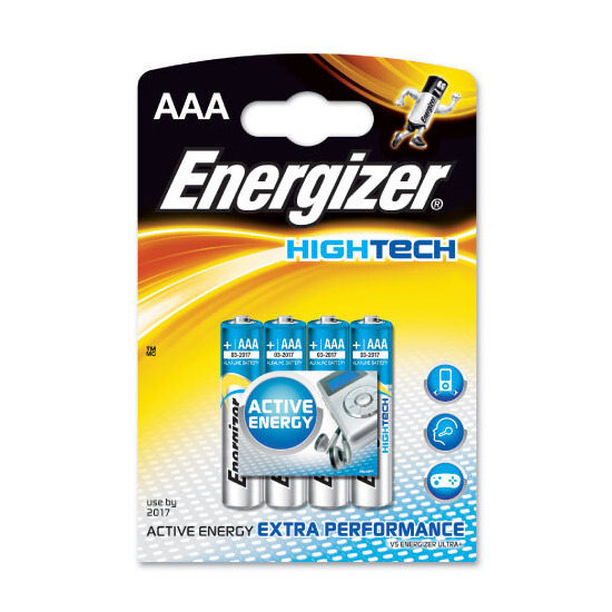 Energizer Ultimate Batteries - 4 x AAA