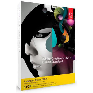 Photo of Adobe CS 6 Design Standard Student and Teacher Version (PC) Software