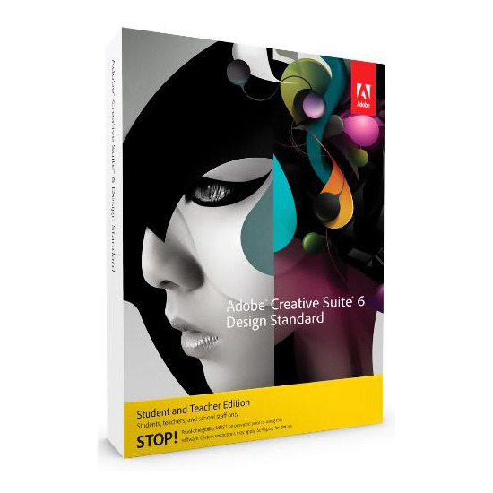 Adobe CS 6 Design Standard Student and Teacher Version (PC)