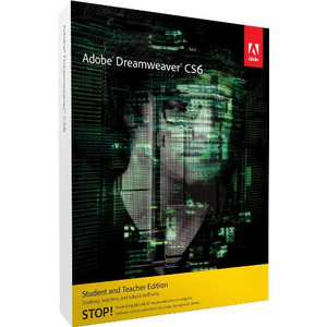 Photo of Adobe Dreamweaver CS6 Student and Teacher Edition (PC) Software