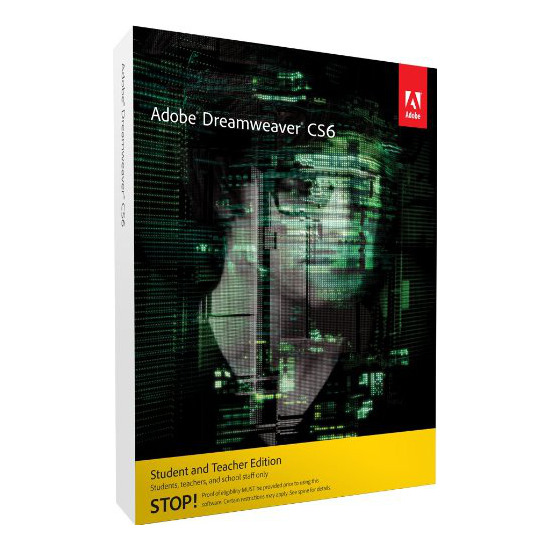 Adobe Dreamweaver CS6 Student and Teacher Edition (PC)