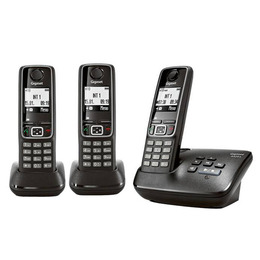 GIGASET A420A Digital Cordless Phone with Answering Machine - Triple handsets Reviews