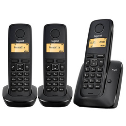 GIGASET A120 Cordless Phone - Triple Handsets Reviews