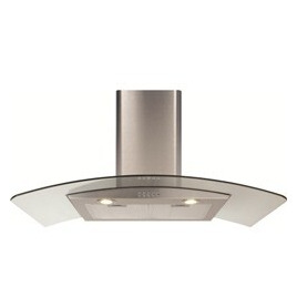 CDA ECP92 Cooker Hood with Curved Glass Chimney Extractor Reviews