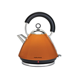 Morphy Richards Accents 43828 Pyramid Traditional Kettle - Orange Reviews